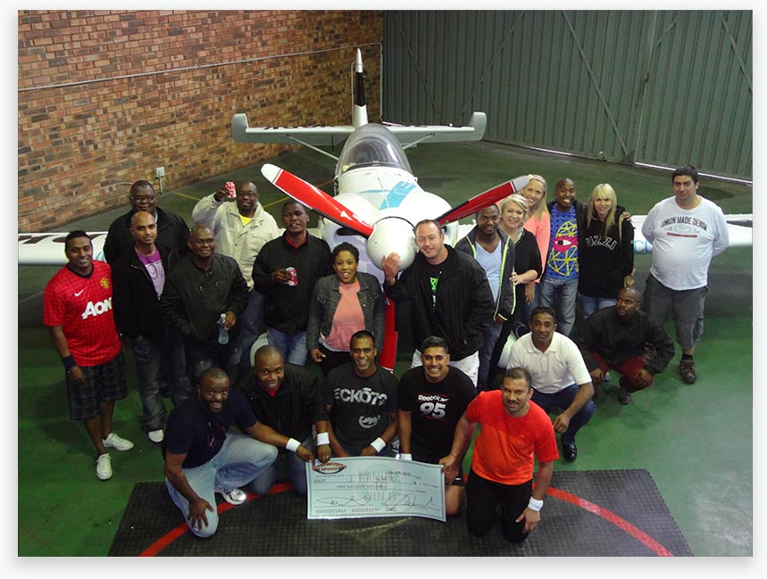 Virginia Airport, KZN – Minute To Win It team Build