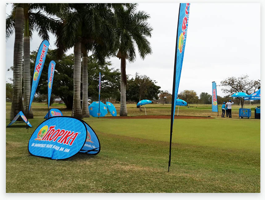Tropica sponsored hole (Pick n Pay Golf Day)  in Pongola