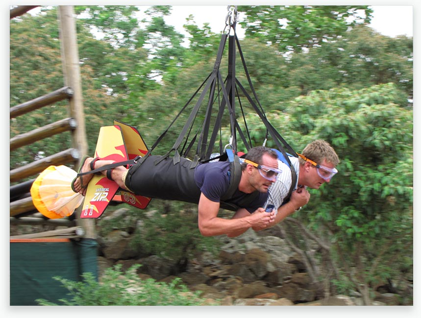 Sun City Hotel, Extreme Zip Line, North West Province